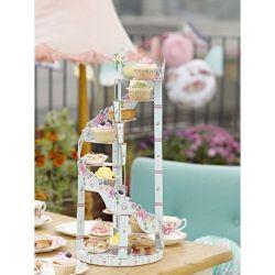 旋轉樓梯茶杯蛋糕座