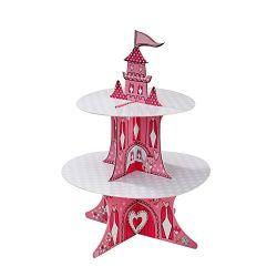 貓公主城堡茶杯蛋糕座