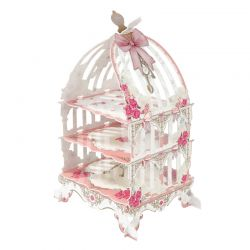 Truly Scrumptious Birdcage Cake Stand