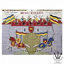 Brave Knights Table Centerpiece