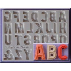 Bevelled Font - Alphabet Moulds