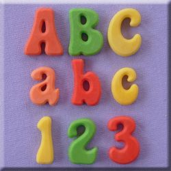 Fun Font full set- Alphabet Moulds