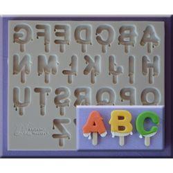 Lolly Font- Alphabet Moulds