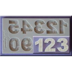 Union Jack Numbers - Alphabet Moulds