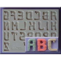 Dripping Font - Alphabet Moulds