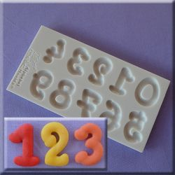 Gothic Font Numbers- Alphabet Moulds