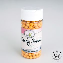 Gold - CANDY BEADS Ø 7 mm - CK products