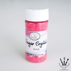 CK products- SUGAR CRYSTALS PINK 4oz