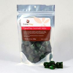 Green Isomalt Nibs - CakePlay