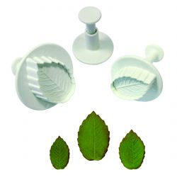 Rose Leaf Plunger Cutter 樹葉 PME
