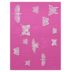 Beautiful Butterfly Cake Lace Mat - CakeLace