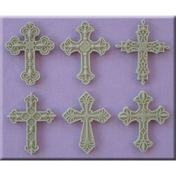 Decorative Crosses  - Alphabet Moulds