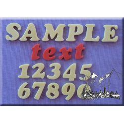 Cookie Font (18mm) - Alphabet Moulds