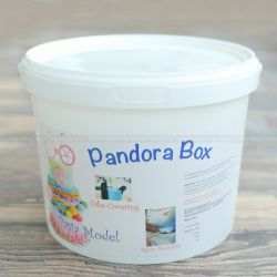 Pandora Box Fondant -White (Hard)白色 5Kg