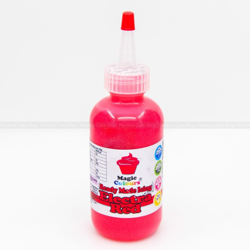 Cake Decorating Ready Made Icing : Ready Made Icing - Red Magic Colours - Pandora Cake Shop