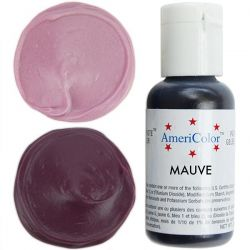 Mauve 21g - Soft gel paste - AmeriColor