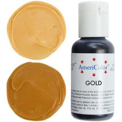 Gold 21g - Soft gel paste - AmeriColor