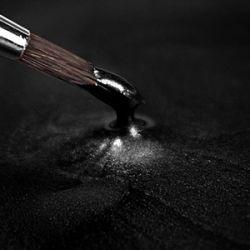 Metallic Black (Loose Pot) - Rainbow Dust