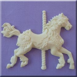 Carousel Horse  - Alphabet Moulds