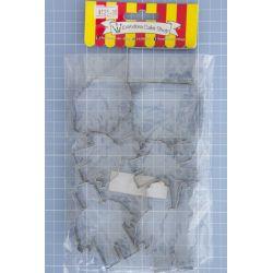 44 Multi Shape set 7 Cookie Cutter - Pandora Cake Shop
