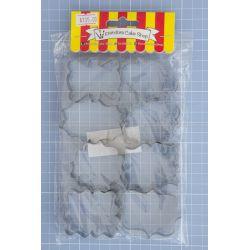 40 Multi Shape set 8 Cookie Cutter - Pandora Cake Shop