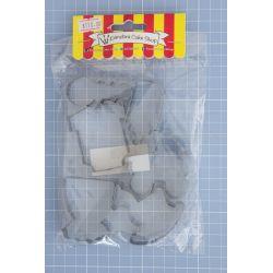 35 Multi Shape set 6 Cookie Cutter - Pandora Cake Shop