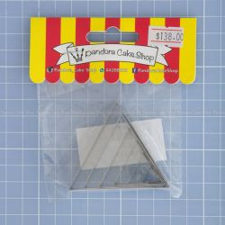 10  Triangle Cookie Cutter - Pandora Cake Shop