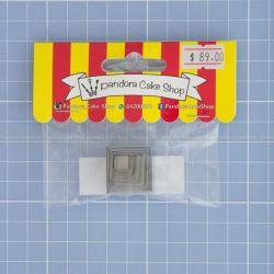 03 Square Cookie Cutter - Pandora Cake Shop