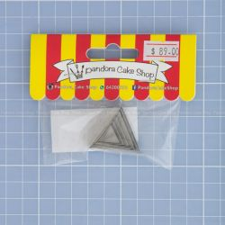 02 Triangle Cookie Cutter -  Made in UK