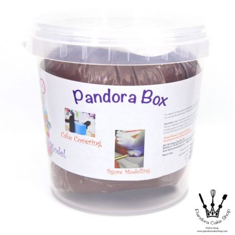 Pandora Box  Fondant- Coffee (Hard)啡色 1kg