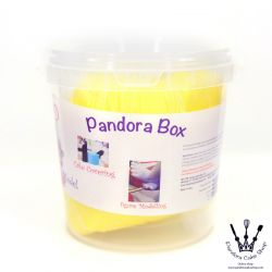 Pandora Box  Fondant- Yellow (Hard)黃色 1kg Fondant