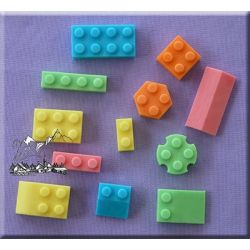 Building Bricks - Alphabet Moulds