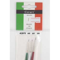 Cerart Professional Italy Brush Set