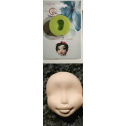 Woman Face Mould - SWEET REVOLUTIONS BY DOMY