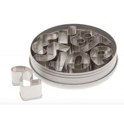 9 Piece  Numbers Cutter Set-Ateco