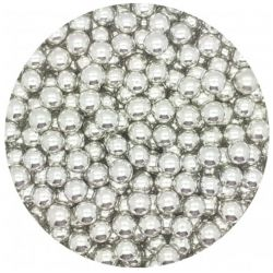 Silver 8mm Edible Pearls Dragees - 100g