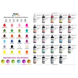 Magic Colours Gel Full Set 30 Colours