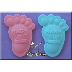 Baby Shower Feet - Alphabet Moulds
