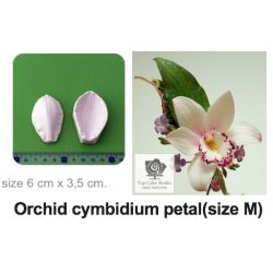Flower Mould-Orchid cymbidium petal(size M)