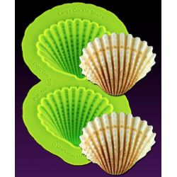 MARVELOUS MOLDS-Large Cockle Shells Mold