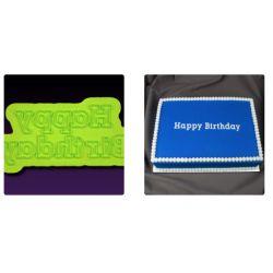 MARVELOUS MOLDS-Typewriter Happy Birthday