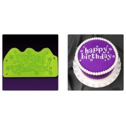 MARVELOUS MOLDS-Happy Birthday Stars