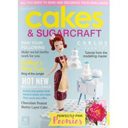 Cakes & Sugarcraft 2017年7月號