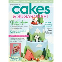 Cakes & Sugarcraft 2017年8-9月號