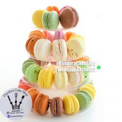 Cashew Hut White Macaron 42pcs
