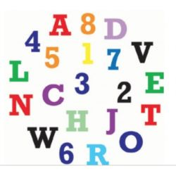 FMM- Alphabet & Numbers Set Upper Case