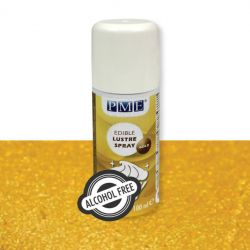 GOLD EDIBLE LUSTRE SPRAY - PME
