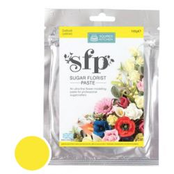 Squires Kitchen - Sugar Florist Paste - Daffodil (Yellow) 100g