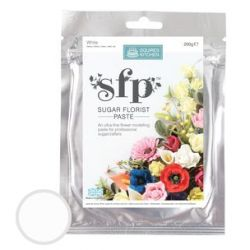 Squires Kitchen - Sugar Florist Paste - White 200g