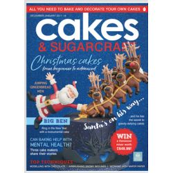 Cakes & Sugarcraft Magazine 12月/1月 2017–18